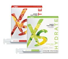 Stay hydrated with XS Sports Twist Tubes