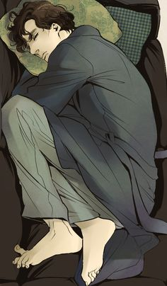 Sherlock art by Bloody Rabbit for Maris