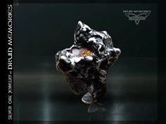 Padparadscha sapphire ring Wolf of Nostradamus