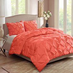 Better Homes and Gardens Pintuck Bedding Comforter Mini Set - Walmart.com