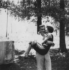 Johnny Cash and his first wife Vivian 1954