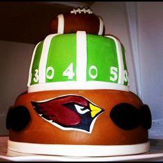 Arizona Cardinals Cake!