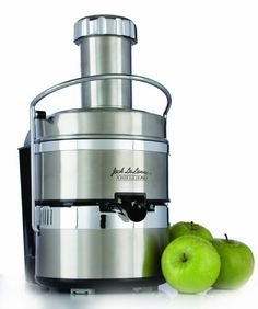 http://yummycakedecorating.com/jack-lalanne-pjp-power-juicer-pro-stainless-steel-electric-juicer/ Lalanne has redesigned its best selling juicer with a new, sleek stainless steel finish and some great new features, such as a non-drip spout and stainless steel mesh filter. The Power Juicer Pro can deliver a powerful 3,600 RPM juicing punch packed with essential vitamins, minerals and nutrients thats sure to please even the pickiest taste buds. A h...