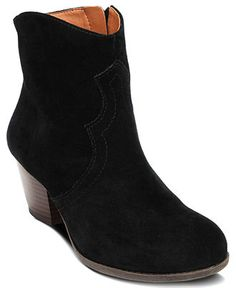 Lucky Brand Shoes, Tablita Booties. I really want a simple pair of low black boots.
