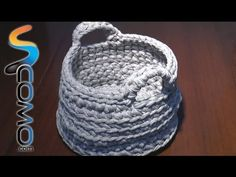 Cómo hacer una cesta de trapillo - unComo