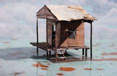 Demiak: 'Deepwater Horizon 3', 40 x 60 cm. 2010