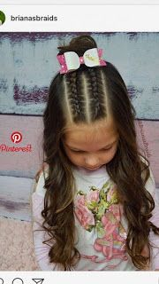 Cute Kids Hairstyles for Girls Hair Style Girl hair styles for girls braids Girls Hairdos, Cute Little Girl Hairstyles, Cute Girls Hairstyles, Kids Braided Hairstyles, Protective Hairstyles, Teenage Hairstyles, Cute Hairstyles For Toddlers, Cut Hairstyles, Cute Girl Hair