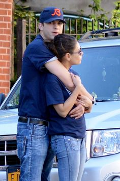 Mila Kunis and Ashton Kutcher too cute