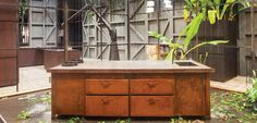The stand out trend at this year's fair was textures and timbers with botanical and organic elements.
