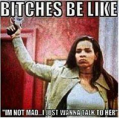 I aint mad lol