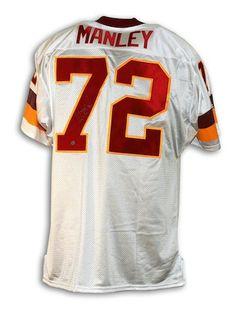 35cd005a4 Autographed Dexter Manley Washington Redskins White Throwback Jersey - APE  COA. Redskins ApparelRedskins GearNfl ...