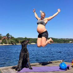 Slik trener du gjennom graviditeten