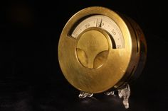 MILITARY BAROMETER BY ELLIOTT BROTHERS c1857 - For Sale - An extremely rare, heavy brass, military barometer by Elliott Brothers, Charing Cross, London, No 175, c1857