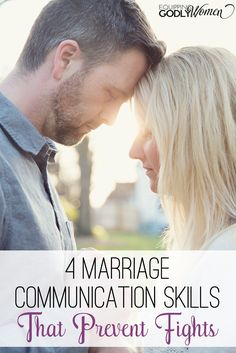 Is a lack of communication in marriage causing conflict in your relationship? Check out these four marriage communication skills that prevent fights. Marriage Romance, Godly Marriage, Marriage Goals, Strong Marriage, Saving Your Marriage, Marriage Relationship, Marriage And Family, Happy Marriage, Marriage Advice