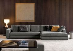 Modular Sofas: Arrangement Hamilton by Minotti Sofa Design, Interior Design, Sofa Furniture, Furniture Design, Hamilton Sofa, Casa Milano, Apartment Projects, L Shaped Sofa, Couch Cushions
