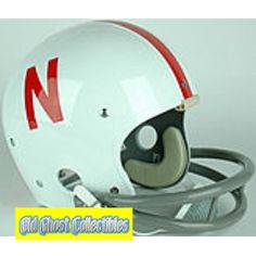 Old Ghost Collectibles - Nebraska Cornhuskers Authentic Throwback Football Helmet 1970, $163.99 (http://www.oldghostcollectibles.com/nebraska-cornhuskers-authentic-throwback-football-helmet-1970/)