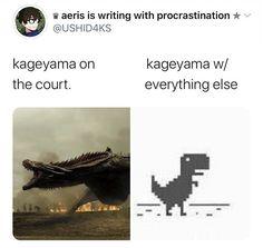 Haikyuu Funny, Haikyuu Fanart, Haikyuu Ships, Kageyama Tobio, Kagehina, Really Funny Memes, Stupid Funny Memes, Karasuno, Haiku