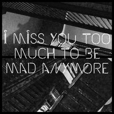 TAYLOR SWIFT ♥ 1989 I MISS YOU TOO MUCH TO BE MAD ANYMORE
