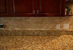 Travertine - light brown granite