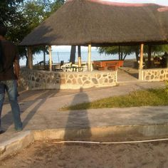 Mikoma Beach Hotel, Karonga Beach Hotels, Campsite, Lodges, Pergola, Cottage, Outdoor Structures, Places, Camping, Cabins
