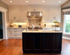 Kitchen Cabinets For 9 Foot Ceilings 9 foot ceiling cabinets pictures again please - kitchens forum