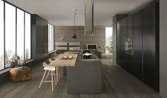 Design kitchens Blade are the most important collection of Modulnova; Modern Kitchen made to celebrate first twenty Years of the Company