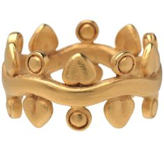 I love this ring!  Arts and Crafts Wave-Link Ring from the Metropolitan Museum of Art store.  $55.