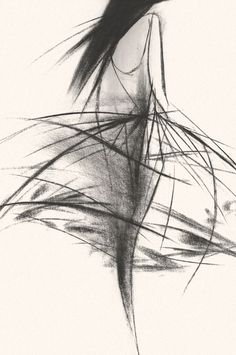 Fashion illustration by Tobie Giddio for Jason Wu, S/S14, NY Womenswear.