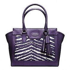 Legacy Zebra Print Medium Candace Carryall. I so would carry this bag!!
