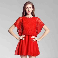 Red Dress For Wedding