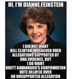 Hypocrisy from Frankenstein Liberal Hypocrisy, Liberal Logic, Stupid Liberals, Democratic Socialist, Democratic Party, Truth Hurts, It Hurts, Dianne Feinstein