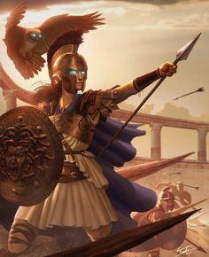 Athena by ForrestImel.deviantart.com on @deviantART