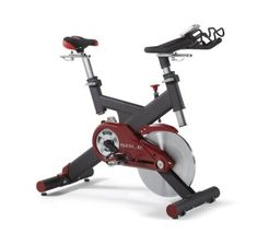 This Sole Fitness SB700 Exercise Bike is a very strong and sturdy exercise bike, and offers a smooth workout with its large 48-pound flywheel.