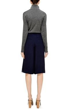 Printed Pleated Walking Shorts by Thakoon Addition Now Available on Moda Operandi