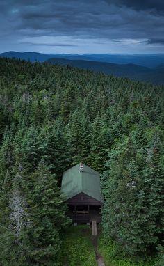 Wakely Mnt Summit, Adirondacks | New York  #cabin