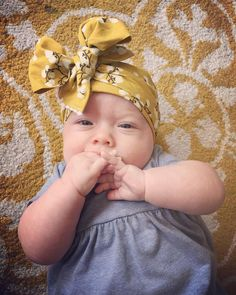 Baby Head Wrap Baby Headwrap Big Bow Headband by MyFairEllie