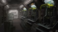 Dropship Interior by cjuzzz on DeviantArt