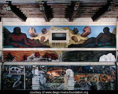 Detroit Industry-9,  1933 2 - Diego Rivera - www.diego-rivera-foundation.org