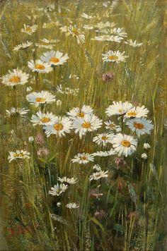 Элин Danielson-Gambogi (1861-1919) - Цветы на лугу