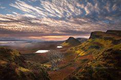 """Quiraing Sunrise. Isle of Skye. Scotland."" by Barbara Jones, via 500px."