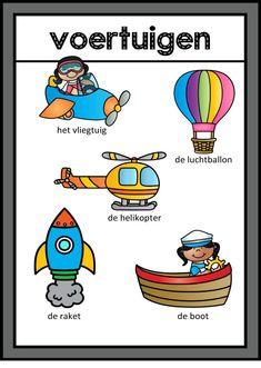 games for group 3 Transportation Nursery, Learn Dutch, Group Games, Fire Trucks, Nursery Wall Art, Phonics, Disney Characters, Fictional Characters, Homeschool