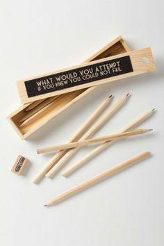 Resolution Pencil Set contemporary desk accessories