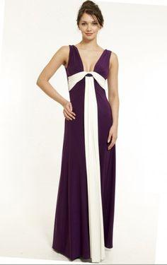 Theperfect Floor-length V-neck Sleeveless Chiffon Column Party Dresses