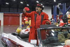 Richard Reyes as Old Saint Nick.  We are diversified. Why not Santa?