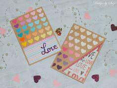 Pohľadnice z farebných vzorkovníkov Be My Valentine, Cards, Design, Maps, Playing Cards