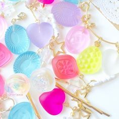 Resins Colourfull Sweets of Rainbow. ❤