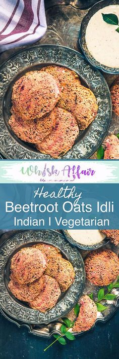 Step by Step and video instructions to make Healthy Instant Beetroot Oats Idli Recipe which is packed with nutrients and is a perfect tiffin option. Vegetarian Breakfast Casserole, Breakfast Crockpot Recipes, Healthy Breakfast Muffins, Cooking Recipes, Crockpot Ideas, Oats Recipes, Eat Breakfast, Breakfast Ideas, Yummy Recipes