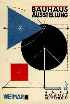Herbert Bayer, Bauhaus Exhibition, 1923