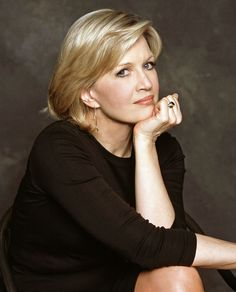 Diane Sawyer...she knew Nixon and worked with him!  Plus, I just like her.  So far, the only woman on my dinner party guest list.
