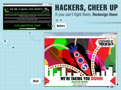 Mccann Digital and Ad Students Make Hatred (and Hacked Sites) Looking Better